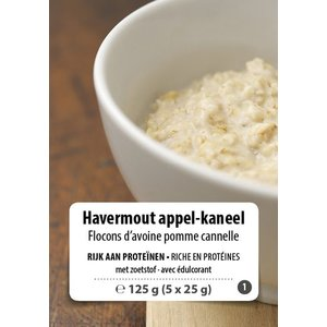 Shape Essentials Havermout appel-kaneel crème (5 x 25g) F1