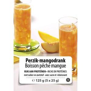 Shape Essentials Perzik-mango drink (5 x 25g) F1