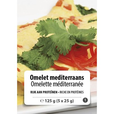 Shape Essentials Omelet mediterraans (5 x 25g) F1