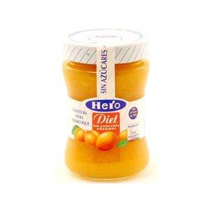 Hero Hero diet Confituur abrikoos 1 pot zonder toegevoegde suikers