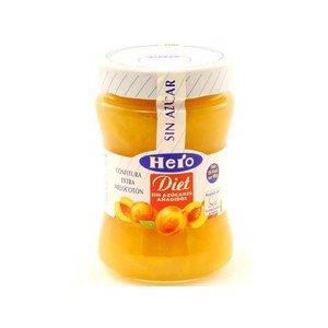 Hero Hero diet Confituur Perzik  1 pot zonder toegevoegde suikers