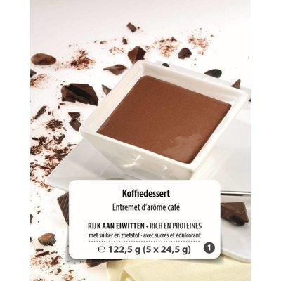 Shape Essentials High Protein Coffee dessert (5x24.5g) F1
