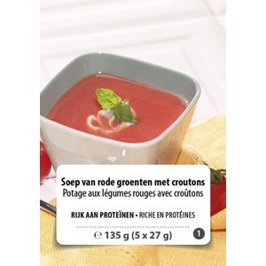 Shape Essentials Soep van rode groenten (5 x 27g) F1
