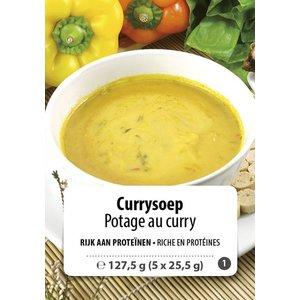 Shape Essentials Currysoep (5 x 25,5g) F1
