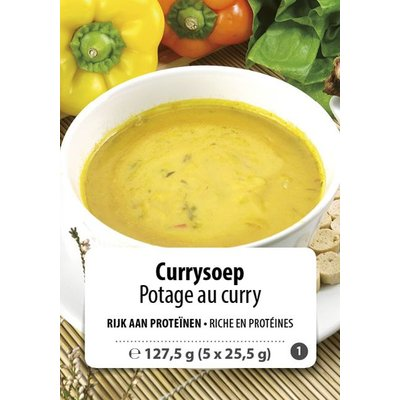 Shape Essentials Currysoep (5 x 25,5g) F1