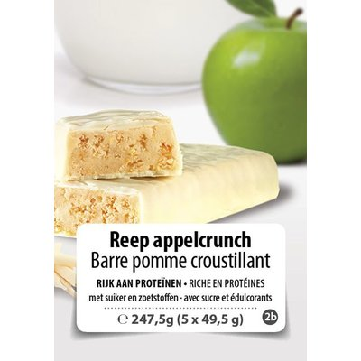 Shape Essentials Reep appel yoghurt crunch (5 x 49,5g) F2b