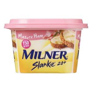 Milner Light Smeerkaas Ham 150g