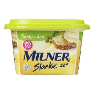 Milner Light Smeerkaas Tuinkruiden 150g