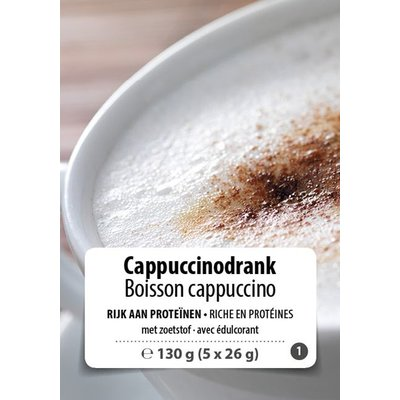 Shape Essentials Cappuccino drink (5 x 26g) F1