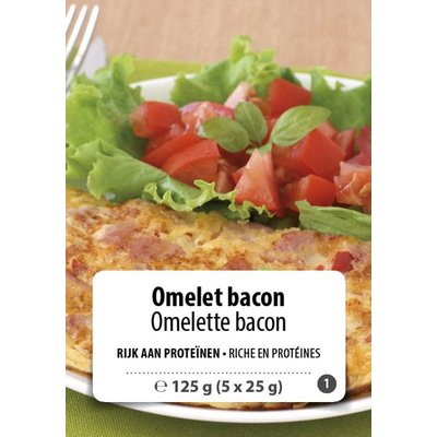 Shape Essentials Omelet bacon (5 x 25g) F1