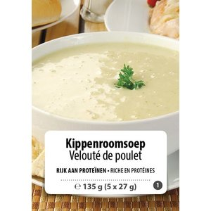 Shape Essentials Kippenroomsoep (5 x 27g) F1