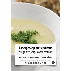 Shape Essentials Aspergesoep met croutons (5 x 27g) F1