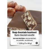 Shape Essentials Reep chocolade/hazelnoot (5 x 44g) F1