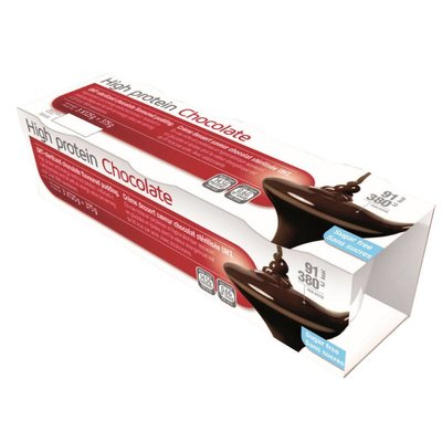 High Protein High protein - Chocolade pudding  3 x 125g