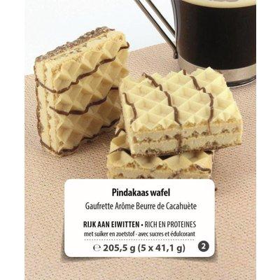 Shape Essentials Protein Pindakaas Protein wafel (5 x 41,9g) Fase 2