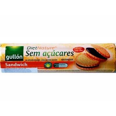 Gullon Gullon 16 Sandwichkoekje chocolade Sugarfree