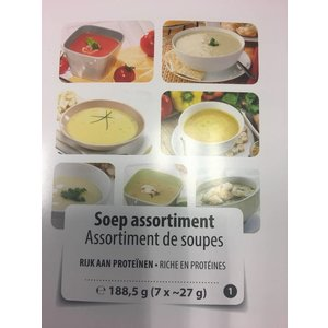 Shape Essentials Soep Assortiment  (7x27g)