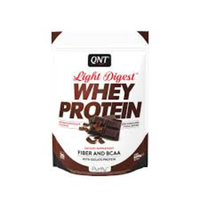 QNT Light Digest whey 500g Belgian chocolate