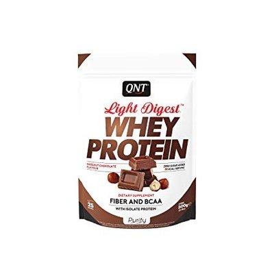 QNT Light Digest whey 500g Hazelnut chocolate