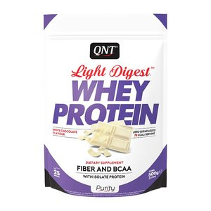 QNT Light Digest whey 500g white chocolate