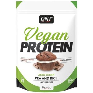 QNT Light Digest VEGAN whey 500g Chocolate muffin