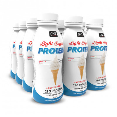 QNT Pro shake Light Digest vanilla 12 X 310ml