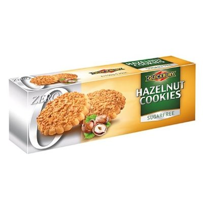 Quickbury Hazelnut cookies sugar free