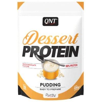 QNT Dessert protein witte chocolade 480g
