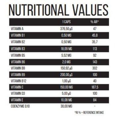 Protech Vitamin Complex - 60 caps noodzaak voor iedere atleet!