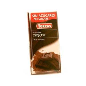Torras Pure chocolade zonder toegevoegde suiker 1pc