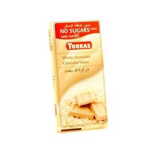 Torras Witte chocolade zonder toegevoegde suiker 1pc