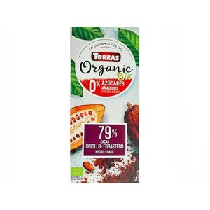 Torras Bio - organic! Pure chocolade 1pc zonder toegevoegde suikers