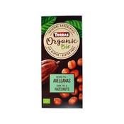 Torras Bio - organic! Pure chocolade met hazelnoten 1pc zonder toegevoegde suikers