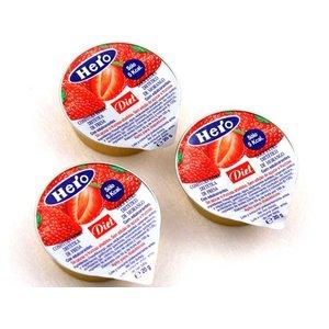 Hero Hero diet confituur 20g aardbei - 72 stuks - zonder toegevoegde suikers