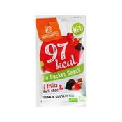 Landgarten Biologische rode vruchten met pure chocolade snack - 97 Kcal
