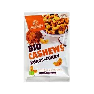 Landgarten Biologische cashewnoten met curry-kokossmaak