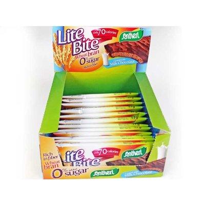 Lite Bite melkchocolade - 12 stuks