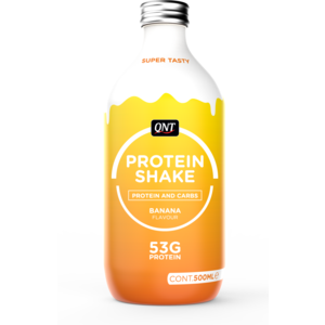 QNT Protein shake 12 X 500ml (glass bottles)