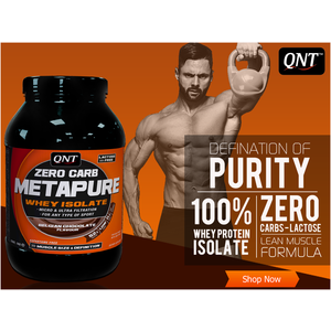 QNT Metapure isolaat Zero Carb