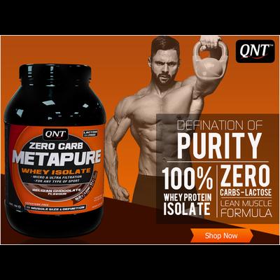 QNT Metapure Zero Carb - whey isolaat