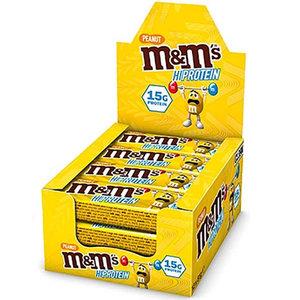 Mars Protein M&M's Hiprotein peanut bar 12 X 51g