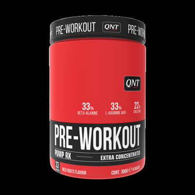QNT Pre-workout red fruits - 300g