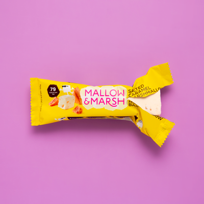 Mallow & Marsh Mallow & marsh - Low calorie & protein enriched marshmallows - 12 pc