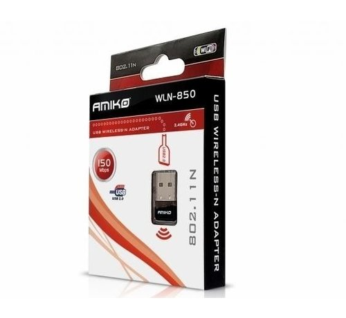 Amiko Amiko WLN-850 USB Wireless-N Adapter