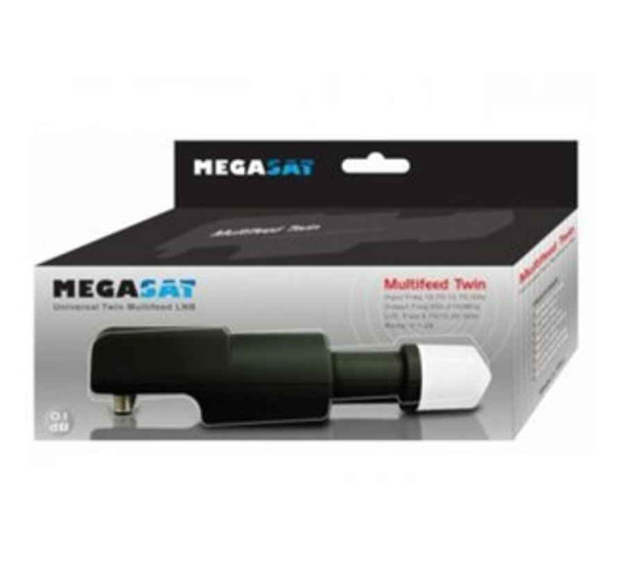 Megasat Multifeed Twin 0,1 db LNB
