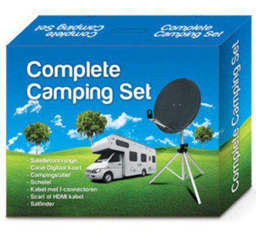 Amiko Compleet HD campingset met Amiko Micro HD SE