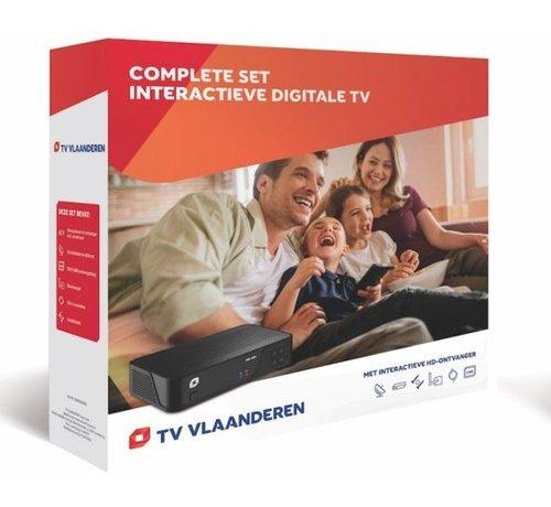 M7 / Canaldigitaal of TVV Tv Vlaanderen HD set