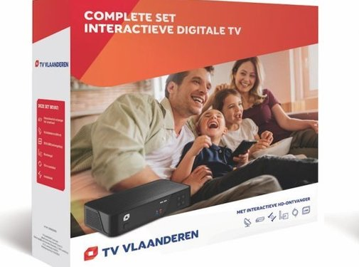 M7 / Canaldigitaal of TVV Tv Vlaanderen HD set