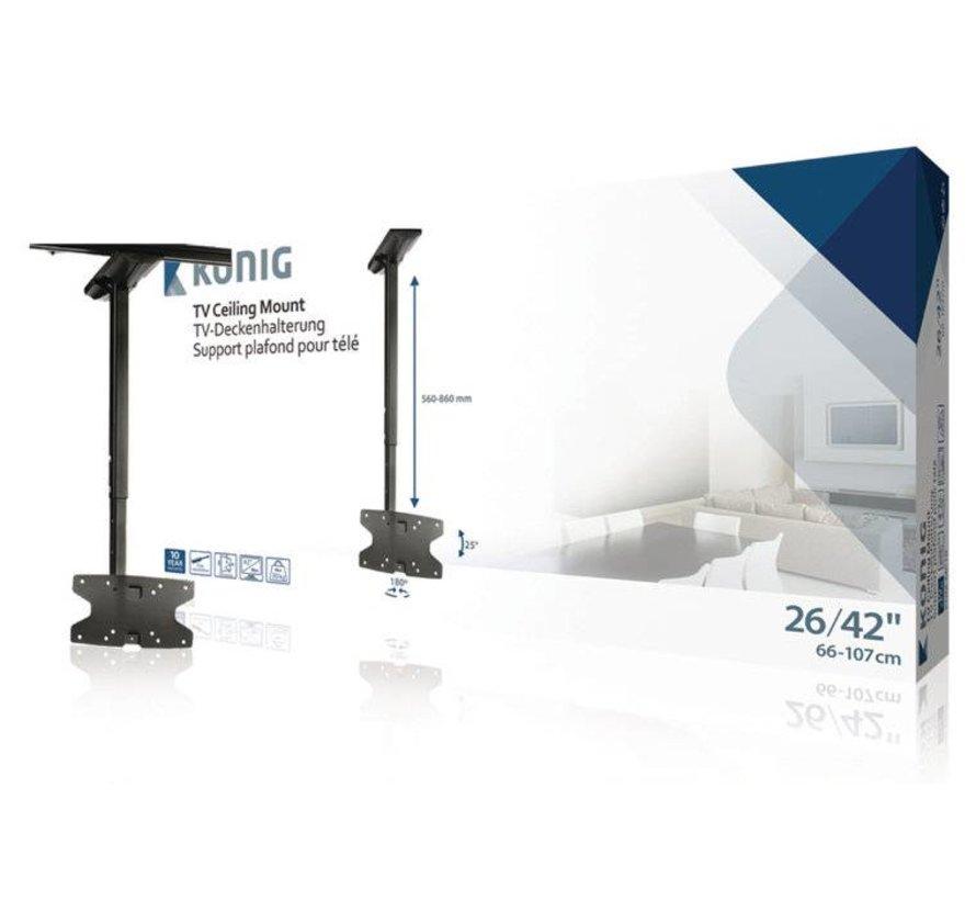 "TV Plafondbeugel Draai- en Kantelbaar 26 - 42 "" 30 kg"