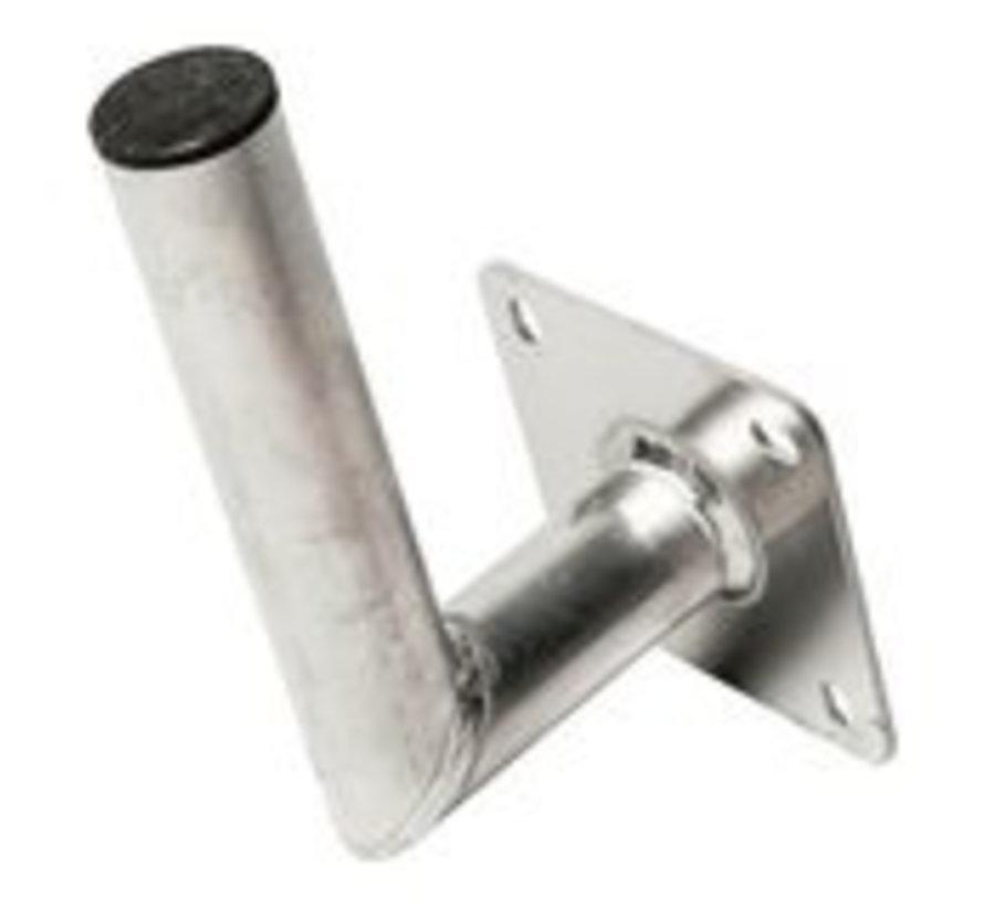 Blueqon WML-A15 50mm (15cm) Aluminium L Muurbeugel